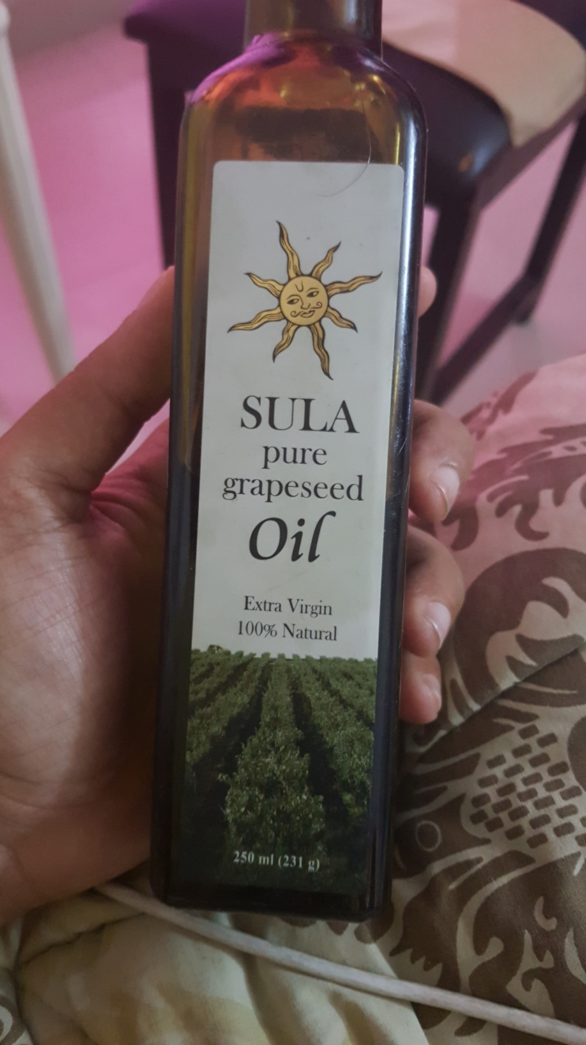 Grapeseed oil from Sula