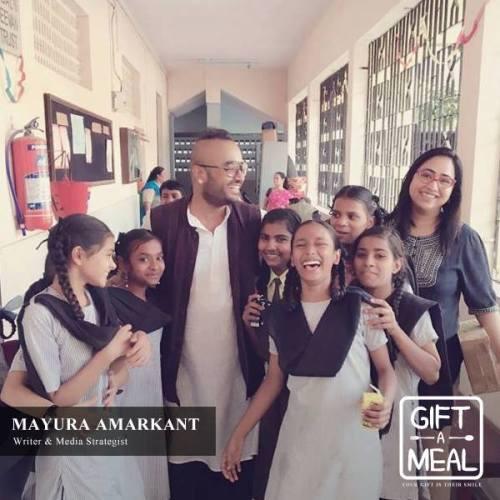 Mayura Amarkant, Gift A Meal