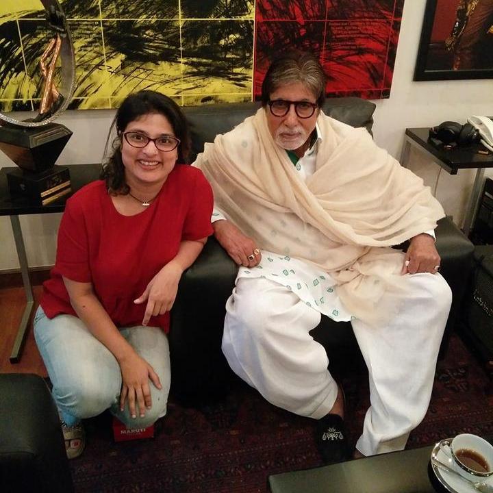 Lokmat Amitabh Bachchan Janhavi Samant