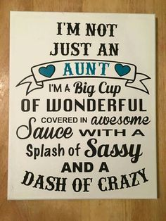 Aunts are wonderful quotes