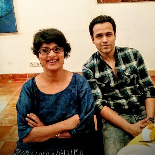 Emran Hashmi and Janhavi Samant