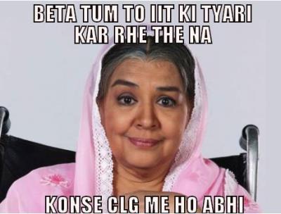 Nosey aunty meme