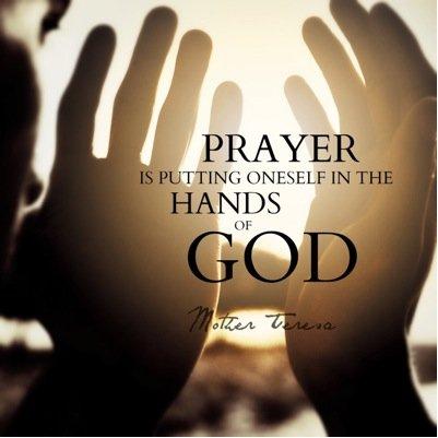 Mother Teresa about praying