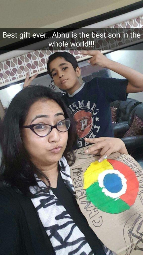 Abhimanyu and Mumma