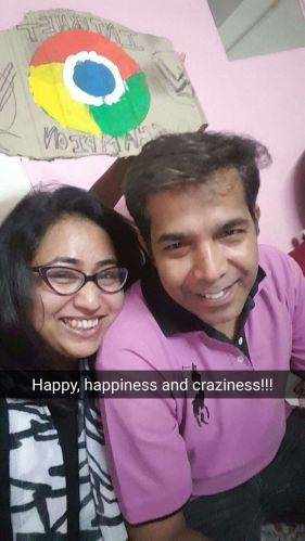 Mayura Amarkant and Amarkant Jain
