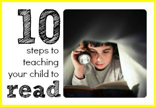 How to teach my child t read