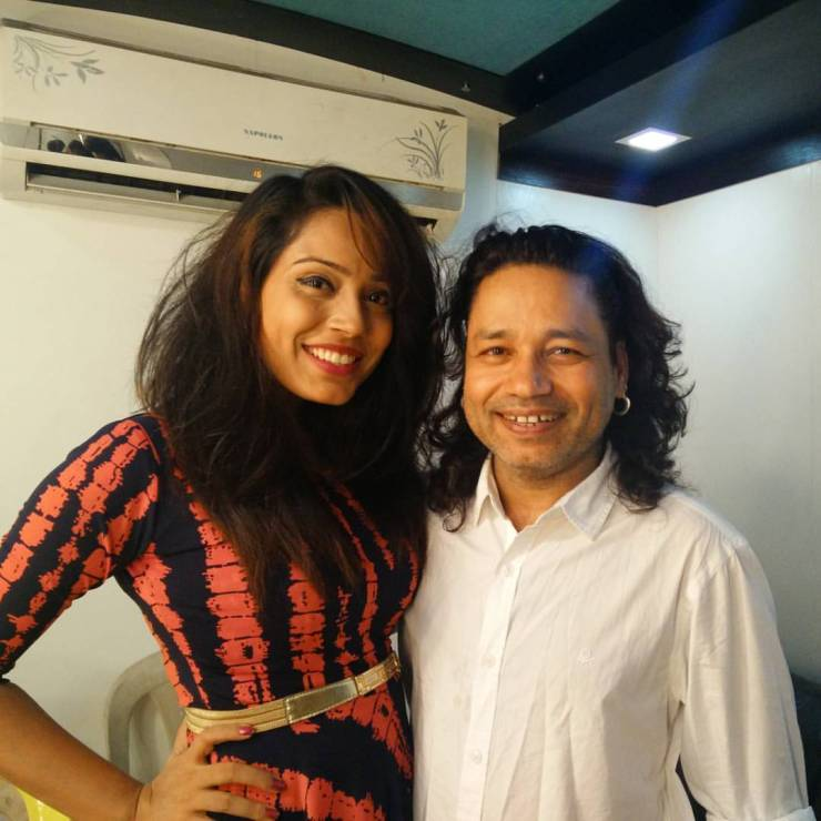 Anupma Singh and Kailash Kher