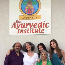 Dr Yogesh Kodkani with ayurvedic doctors