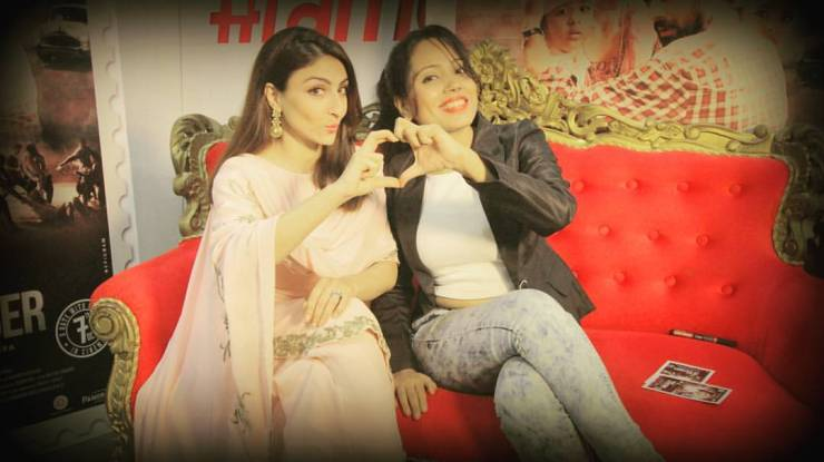 Soha Ali Khan and Anupma Singh