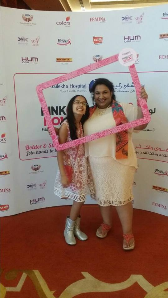 Breast cancer survivor Umaima Tinwala