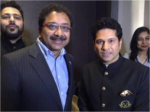 Paresh Chaudhary & Sachin Tendulkar