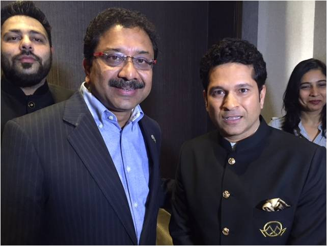 Paresh Chaudhry & Sachin Tendulkar