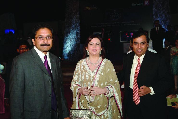 Paresh Chaudhry, CEO, Madison PR, Nita Ambani, Mukesh Ambani