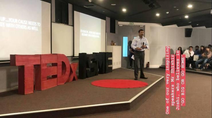 TEDxISME Shishir Joshi