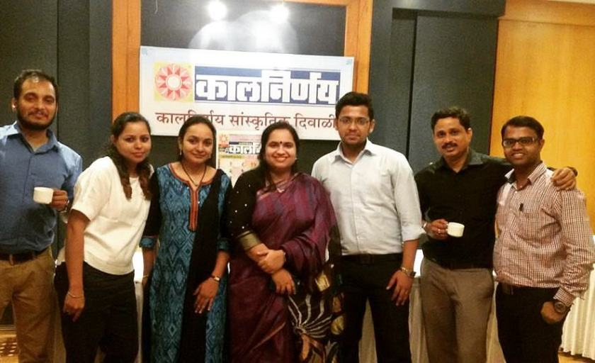 Team Kalnirnay - Shakti Salgaokar-Yezdani
