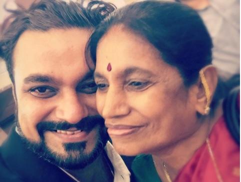 Mihir Bijur and Mother