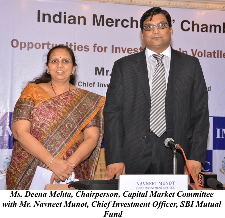 Deena Mehta, Chairperson, Capital Market Committee