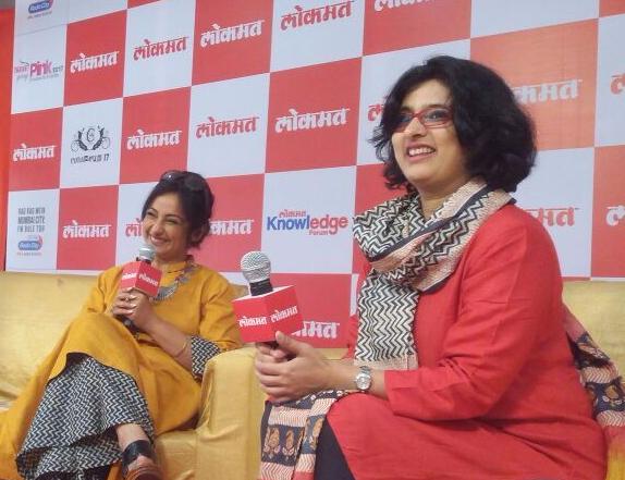 Lokmat's Entertainment Editor, Janhavi Samant