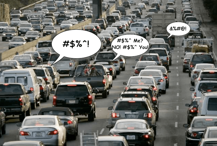 Traffic Jam abusing