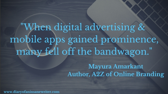 What happened when Digital Advertising & Mobile Advertising became popular