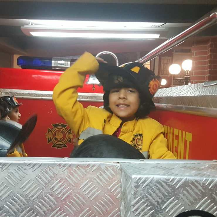 Kidzania Fire fighter
