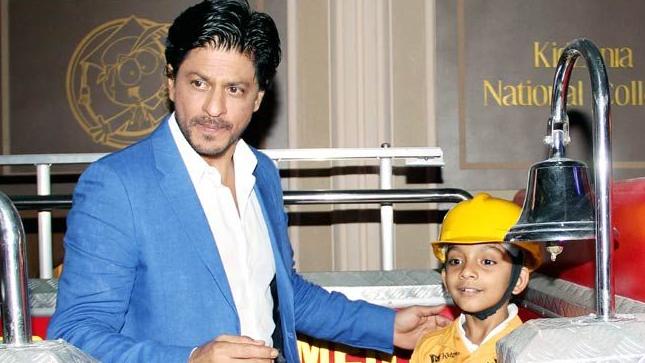 Shahrukh Khan Kidzania