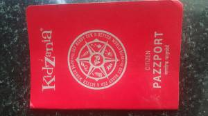 Kidzania passport