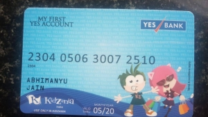 Credit Card YES Bank Kidzania