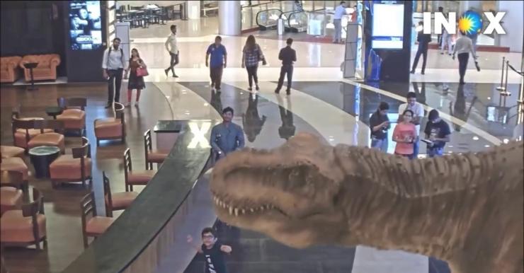 Dinosaurs Jurassic World at INOX