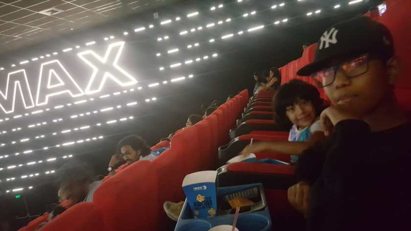 IMAX cinema seating at R City Ghatkopar INOX