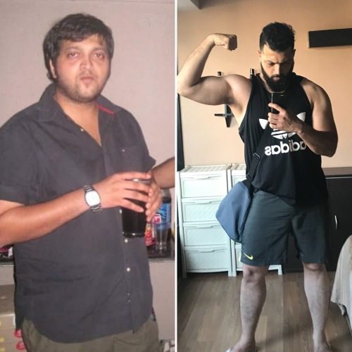 Weight loss journey of Sameer Karve