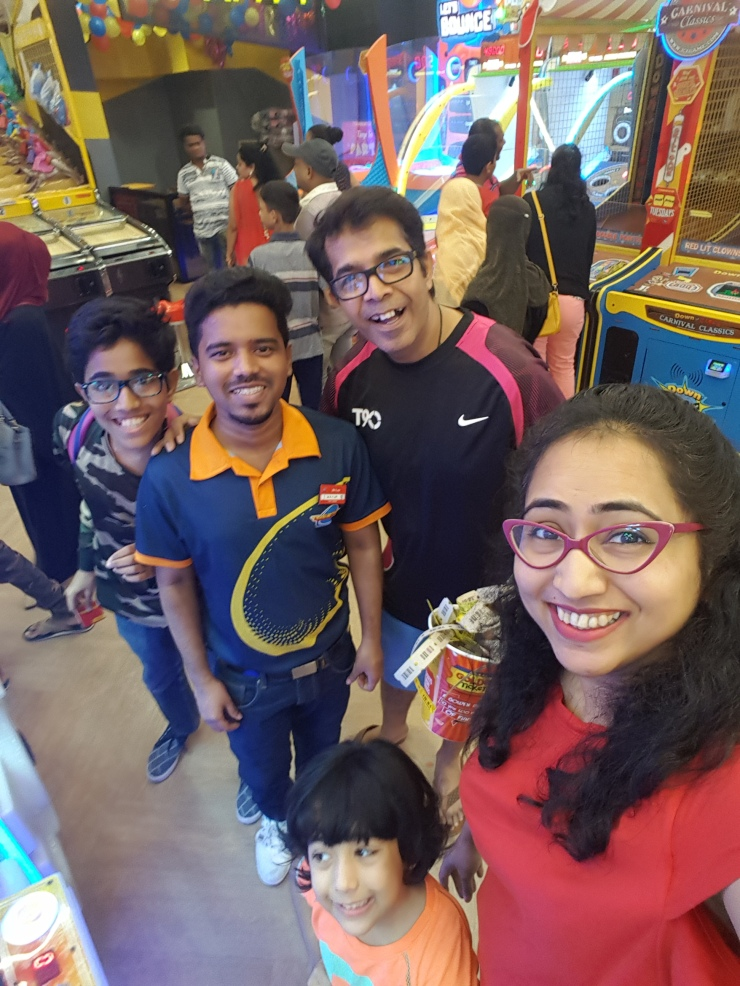 staff at timezone malad