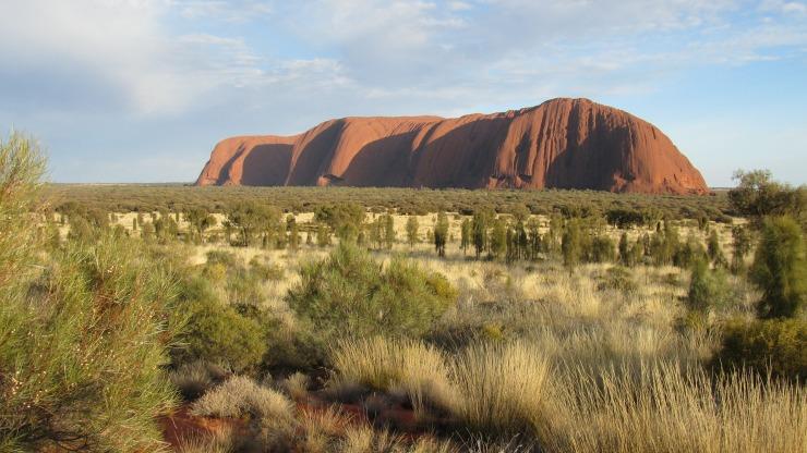 Ayer's rock, Central Australia