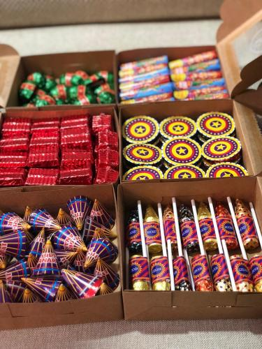 Fire cracker chocolates for Diwali