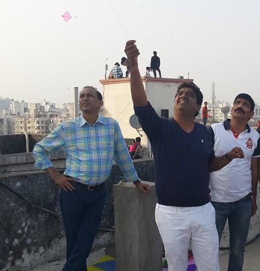 Sunil Singhania, Mukul Agarwal & Sunil Dewali