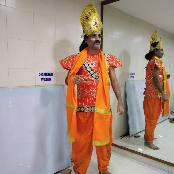Ramayana Rehearsals