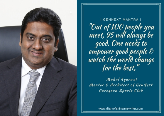 Mukul Agarwal, Mentorand Architect of GenNext. Param Capital