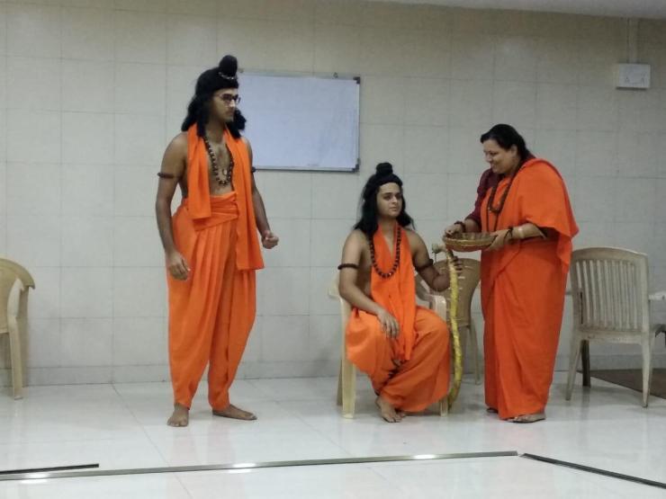 Ramayan Rehearsals