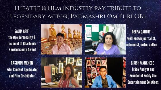 Tribute to Padmashri Om Puri OBE