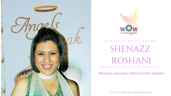 Roshani Shenazz, Approved Holistic Therapist & Training Provider by IPHM, UK