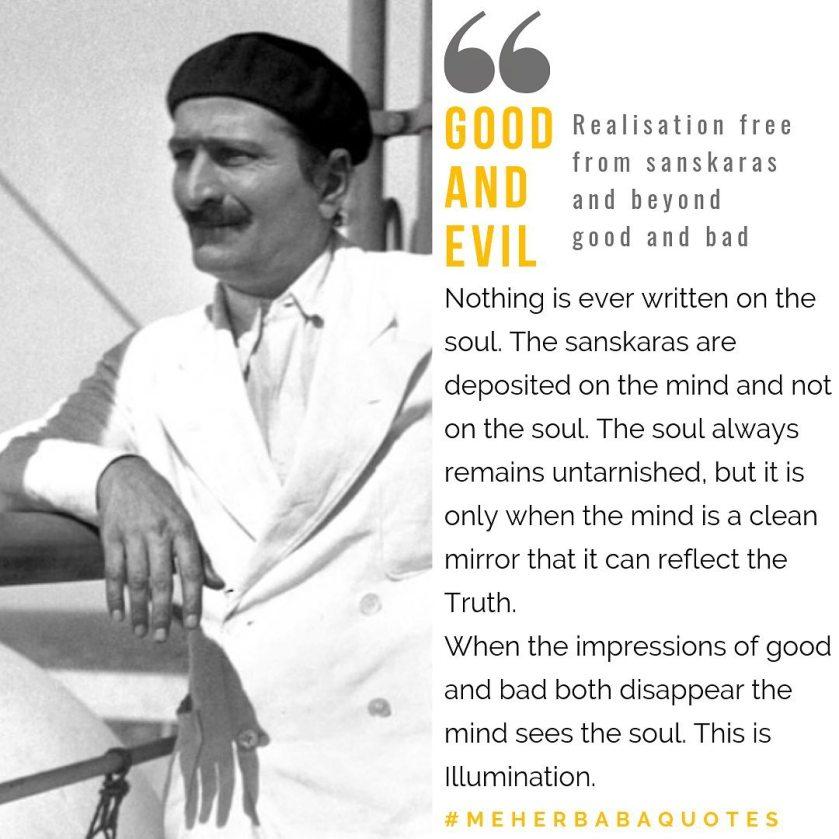Meher Baba Quotes Sanskaras