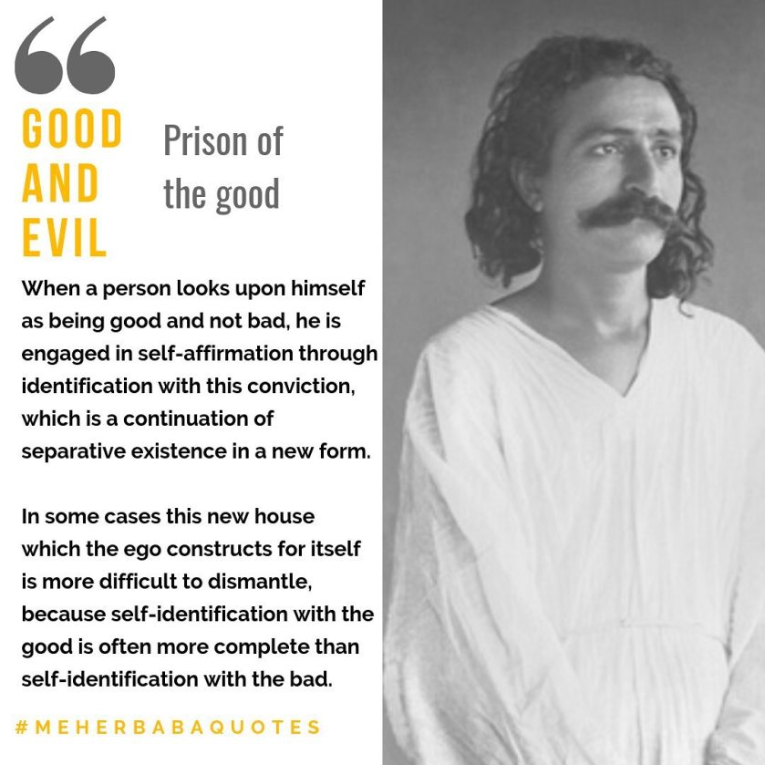 Meher Baba Quotes why do bad things happen to good people