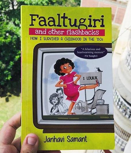 Faaltugiri cover Janhavi Samant