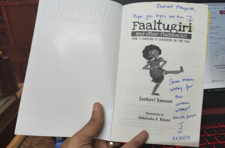 Faaltugiri by Janhavi Samant