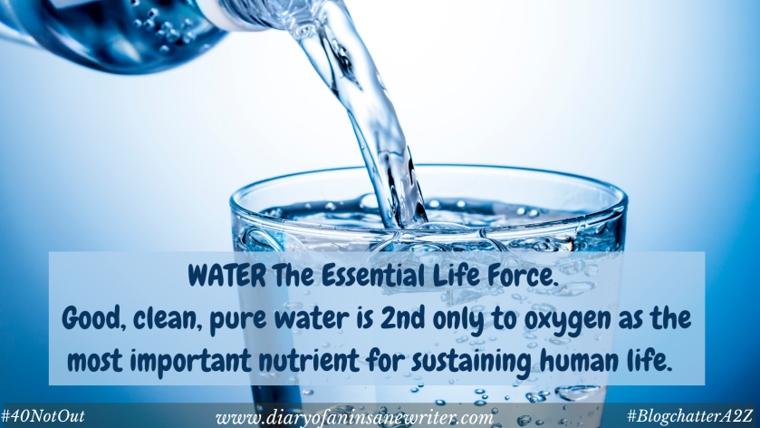 Water is the essential life force just like oxygen
