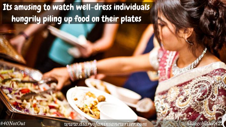 Greedy people at social gatherings