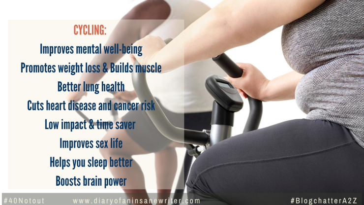 How can cycling help in losing weight