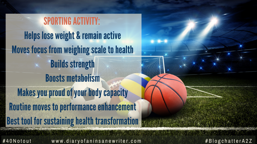 Why sports is good for weight loss