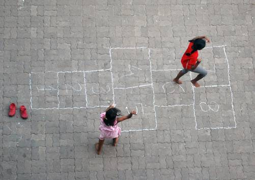Maze game in India