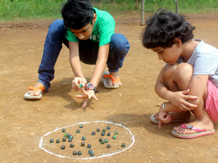 Forgotten games of India marbles